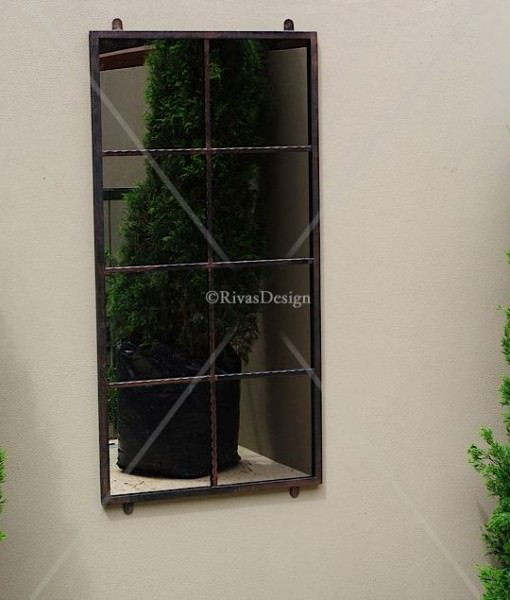 iron outdoor mirror Sydney