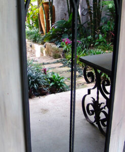 Double Arched outdoor mirror