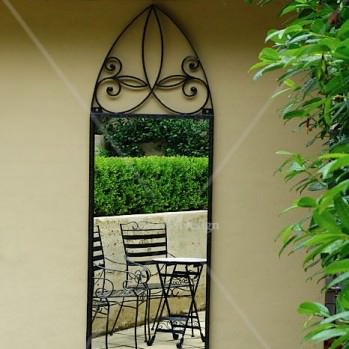 Arched-outdoor-mirror