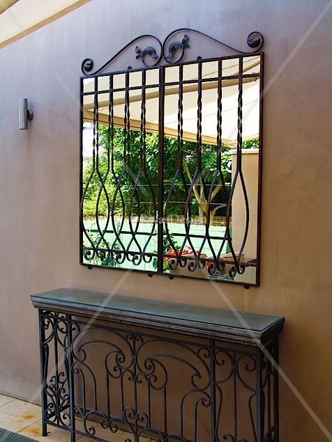 Bowed Front Outdoor Mirror Outdoor Mirrors
