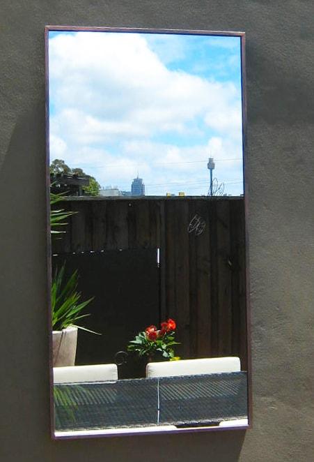 Contemporary Outdoor Mirror Std Outdoor Mirrors