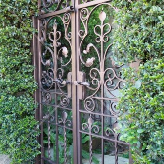 Wrought Iron Gates Rivas Design