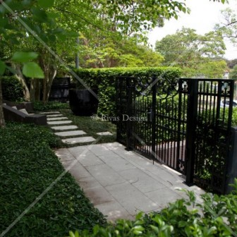 Custom designed wrought iron