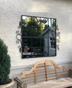 Garden mirror by Rivas Design Sydney