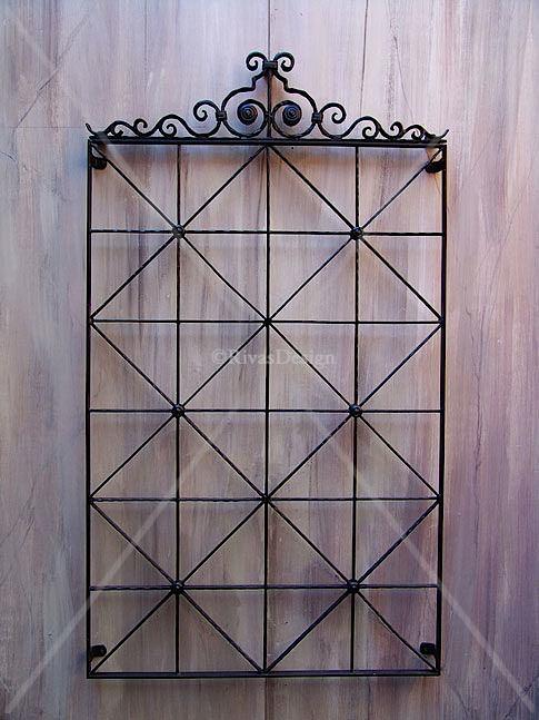 Outdoor Wall Decor Wrought Iron