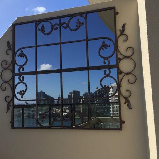 Mirror Outdoor Scrolled Gate std harbourside 2