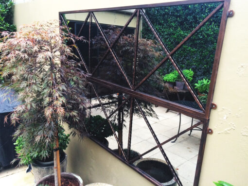Outdoor mirrors Triplecross design