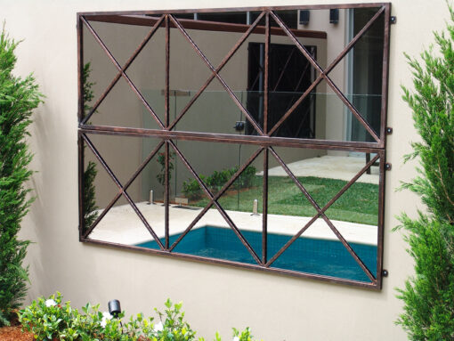Outdoor mirrors in triple cross mirrors Edgecliff 8