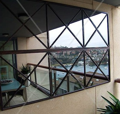 Triple Cross iron mirrors Sydney