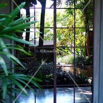 Garden mirror set
