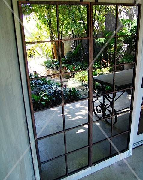 Pair outdoor mirrors