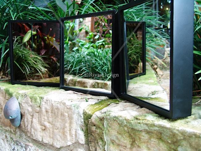 Contemporary Outdoor Mirror Sm Outdoor Mirrors