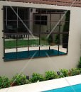 Mirrors 12 Sq outdoor