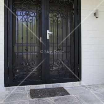 Set of Iron Doors
