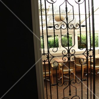Wrought Iron Panels Commercial