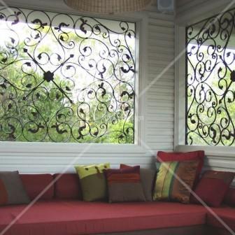 Set of Wrought iron panels