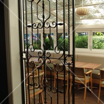 Wrought Iron Screens Commercial