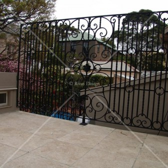 Wrought Iron Screens Large