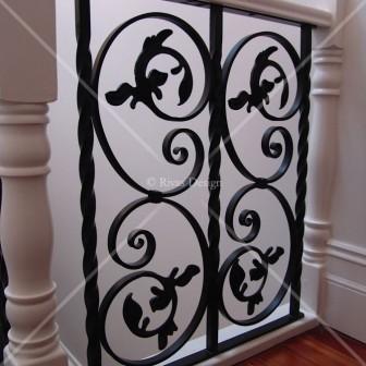 Iron balustrades