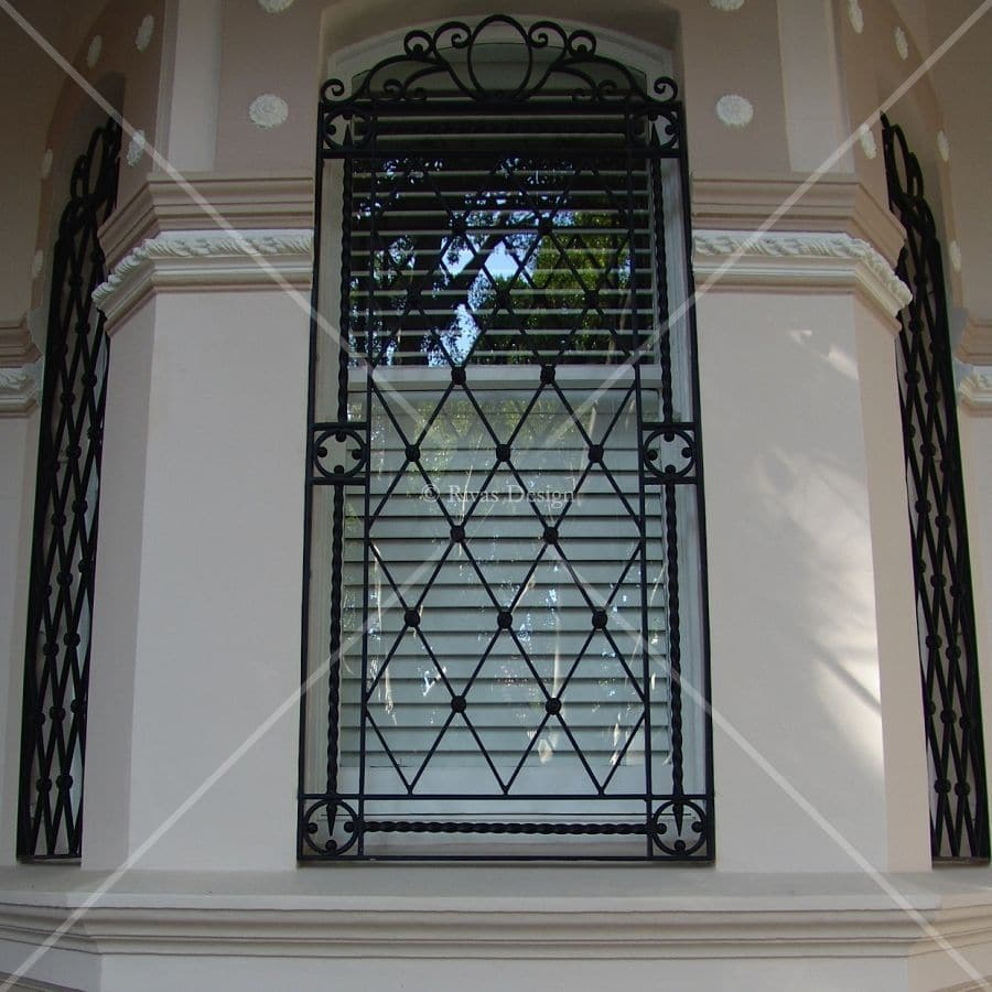 Used Iron Door Grill Designs Interior Wrought Iron Door: Rivas Design