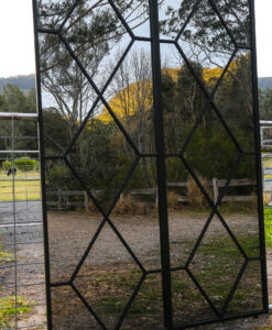 Diamonds Mirror set of two outdoor mirrors side