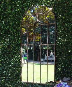Mirror Xtra large top garden wallJPG Fotor