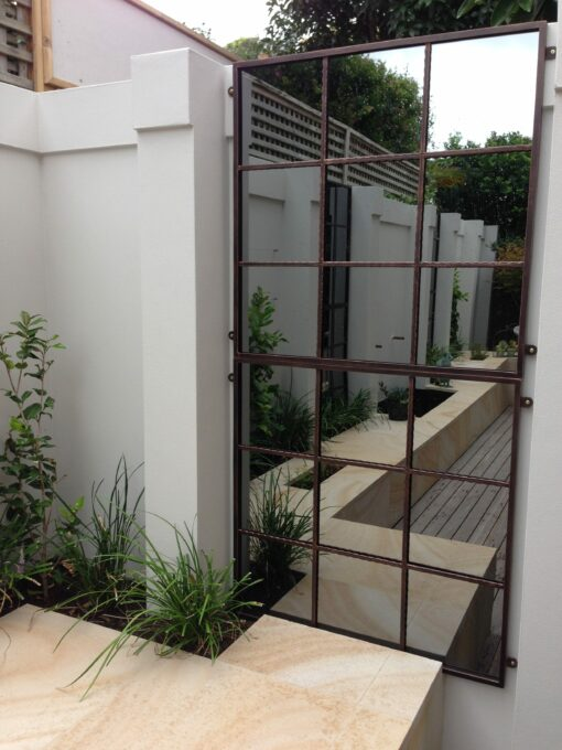 Pair of our 9sq outdoor mirrors Melbourne
