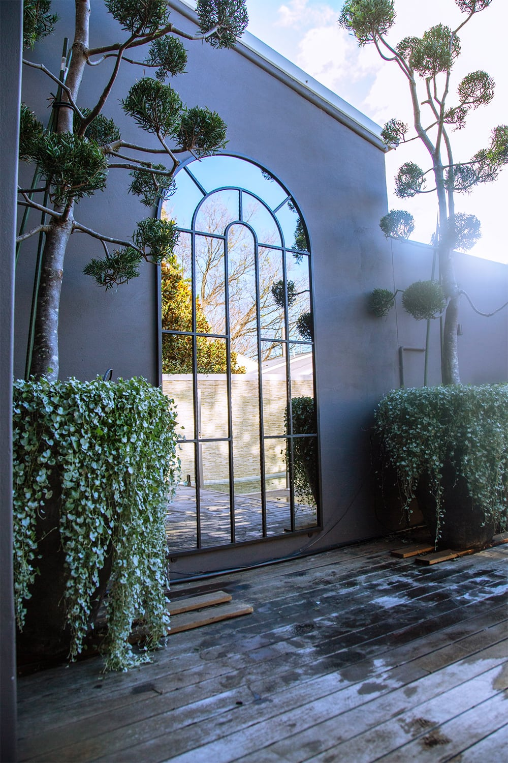 Arch Top Mirror Xlarge Outdoor Mirrors