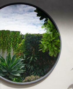 1200mm Circular iron outdoor mirror