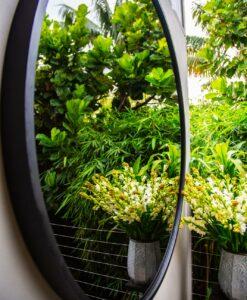 Detail RD outdoor mirror circular