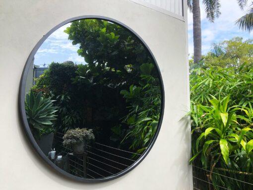 RD 1200mm contemporary outdoor mirror circular